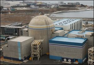 Shin-Kori No.2 nuclear power plant is seen in Ulsan, South Korea, is one of two plants idled.