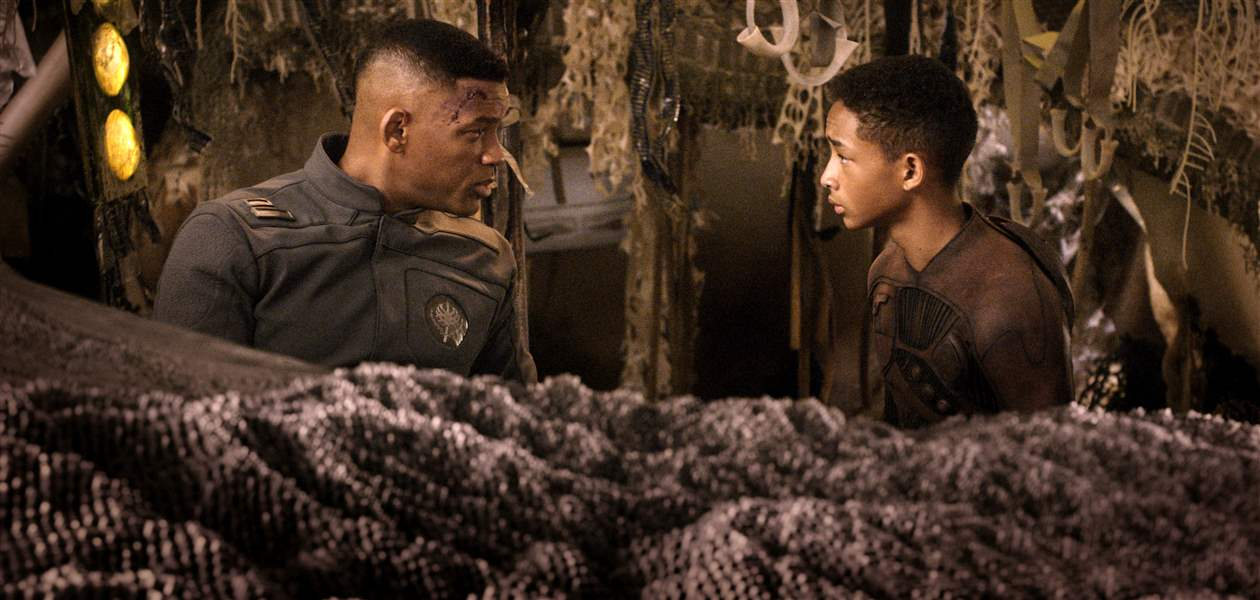 Will-Smith-left-and-Jaden-Smith-in-a-scene-from-After-Earth