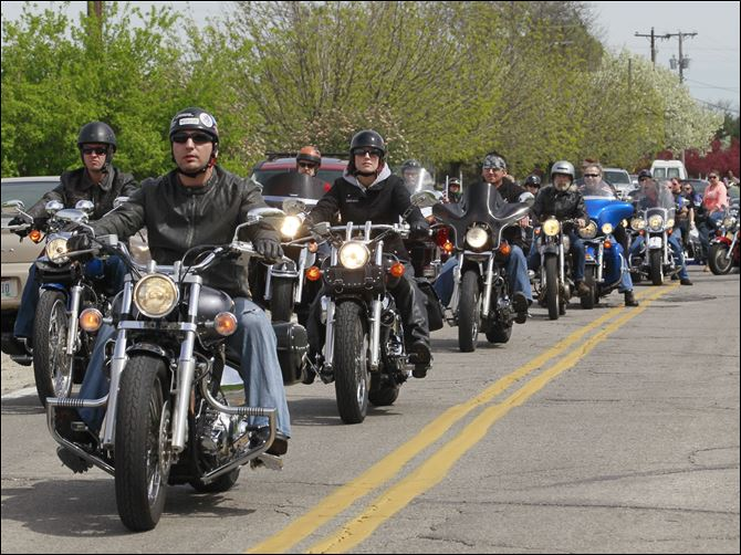 Christian Cruisers group The Christian Cruisers of the Toledo Area, a local chapter of the Christian Motorcycle Association, hosts a