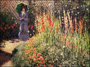 Among the Detroit Institute of Arts' many notable works is 'Gladioli,' 1876, by the Impressionist Claude Monet.