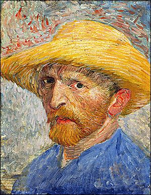 This Vincent van Gogh self portrait at the DIA was the first van Gogh painting to enter a U.S. public collection.
