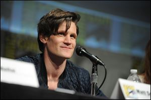 Matt Smith speaks at the