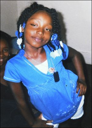 Family photo shows Aiyana Stanley-Jones, 7.