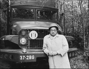 In 1964, Seymour Rothman went to the National Guard's Camp Grayling in Michigan to report. A World War II vet, he's seen with a deuce-and-a-half Army truck.