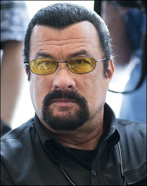 U.S. actor Steven Seagal