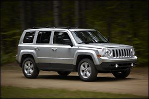 Chrysler will recall more than 409,000 Jeep Patriot and Compass small SUVs.
