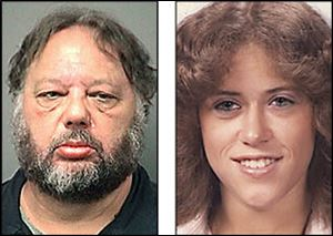 Andrew Gustafson, left, is accused of killing  Janean Brown, 19,  who went missing on Nov. 18, 1983.