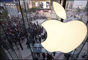 Apple is expected to reveal a digital radio service and changes to the software behind iPhones and iPads on Monday as the company opens its annual conference for software developers.