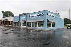 The PureSleep store at 4600 Talmadge Rd. has been open since May 25 but the ribbon-cutting ceremony takes place today. Two more standalone stores are scheduled to be built in the area.