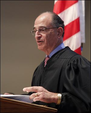 Judge Jack Zouhary helped lead the effort to establish the re-entry court in 2009.