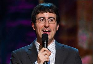 Comedian John Oliver is presiding on