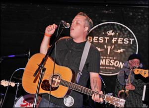 Jason Isbell performs during Stones Fest NYC in May, 2013 in New York City.