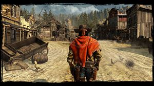 A screen shot from Call of Juarez: Gunslinger.