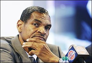Maurice Cheeks comes to Detroit after four years as an assistant coach at Oklahoma City. He was a head coach at Philadelphia and Portland.