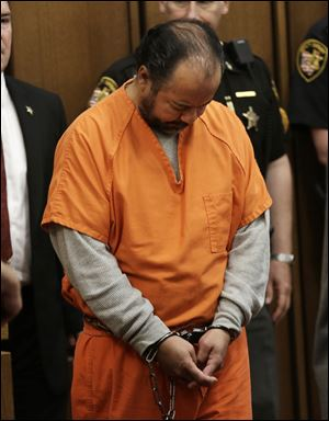 New evidence is being checked to determine whether there were other victims of accused kidnapper Ariel Castro, shown here at a court hearing.