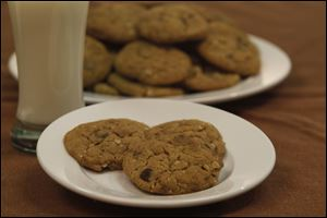 Amish chocolate chip cookies.
