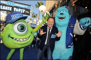 "Billy Crystal arrives at the world premiere of ""Monsters University"" at the El Capitan Theatre in Los Angeles."
