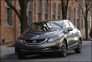 Honda had the top-performing small car and small SUV, with the Honda Civic and Honda CR-V, in the J.D. Power survey.