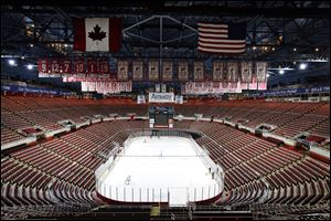 Plans are under way to replace Joe Louis Arena in Detroit where the Red Wings hockey team plays.