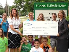 Frank-elementary-recycling-team