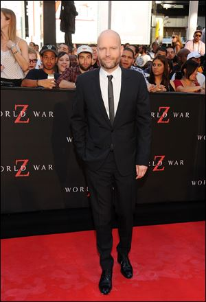 "Director Marc Forster attends the premiere of ""World War Z"" in Times Square June 17."