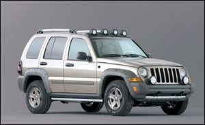 The 2005 Jeep Liberty Renegade is among the Liberty models affected by the safety recall. The Liberty was made in Toledo; 1993-1998 Grand Cherokees to be recalled were made in Detroit.