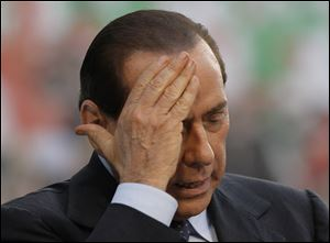 "Silvio Berlusconi, Italy's former prime minister, was sentenced to seven years in prison and banned from politics for life Monday for paying an underage prostitute for sex during infamous ""bunga bunga"" parties and forcing public officials to cover it up."