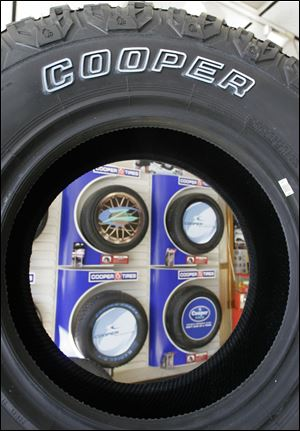 A Cooper Tire & Rubber Co. investor has sued to block the company's $2.5 billion takeover by Apollo Tyres Ltd., saying the offer of $35 a