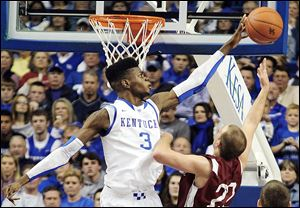 Kentucky's 6-foot-11 Nerlens Noel, who visited the Cleveland Cavaliers last week, could possibly be the No. 1 pick in the NBA draft.