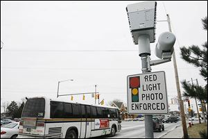 Toledo has 43 red-light and speed-enforcement cameras.