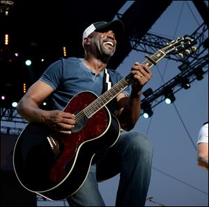 Musician Darius Rucker performs onstage during 2013 Stagecoach: California's Country Music Festival held at The Empire Polo Club on April 28, 2013 in Indio, California.