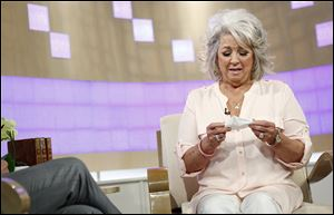 Celebrity chef Paula Deen appears on NBC News' 'Today' show, Wednesday, in New York. Deen dissolved into tears during the interview about her admission that she used a racial slur in the past.
