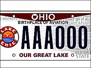 Ohio Poised To Offer 2nd Lake Erie License Plate Toledo