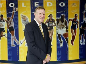 University of Toledo athletic director Mike O'Brien is approaching his 12th year on the job. He is expected to soon sign an extension.