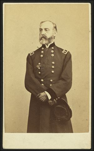 Gen. George G. Meade took over Union forces days before the battle.