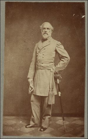 Gen. Robert E. Lee led Confederate troops at Gettysburg.