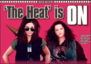 Melissa McCarthy and Sandra Bullock star in 'The 'Heat'