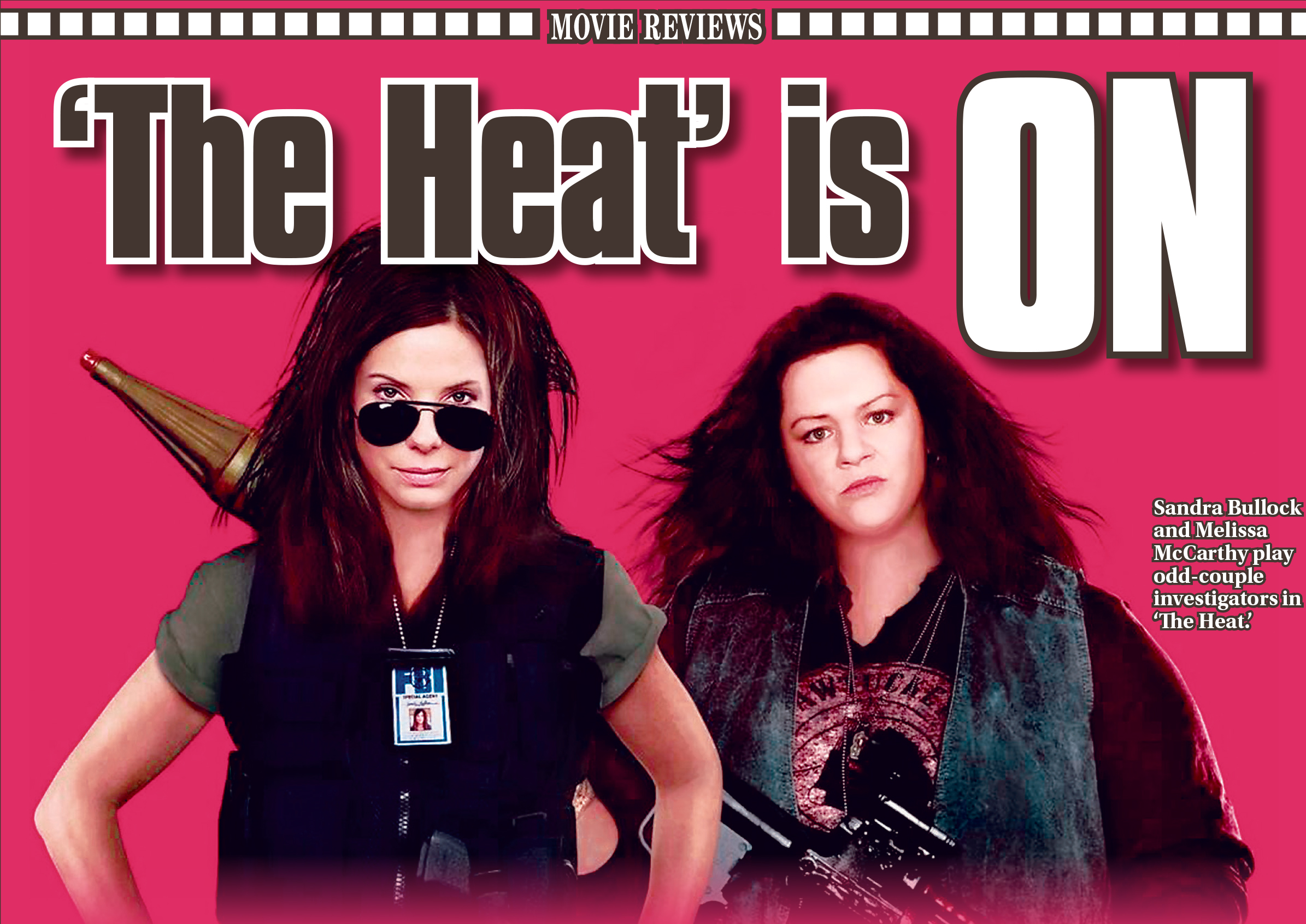 'The Heat' is on - The Blade
