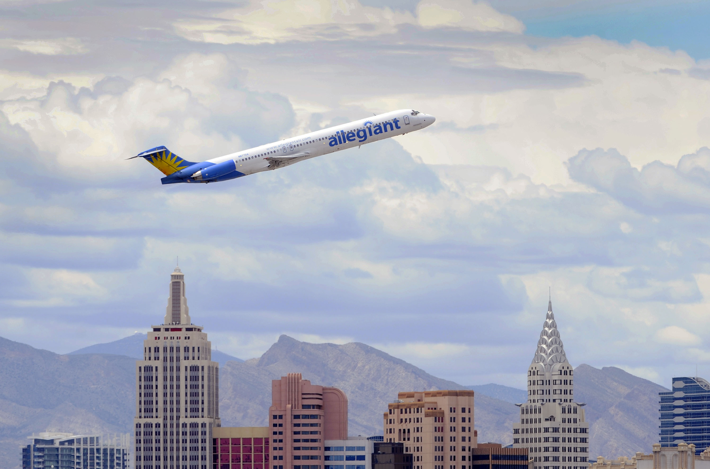 Allegiant Air Thrives On Routes To Sunny Vacation Spots