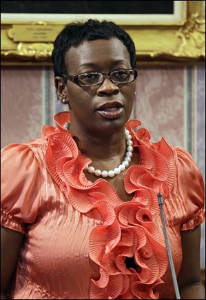 State Sen. Nina Turner (D., Cleveland) announced today she would run for Ohio secretary of state.