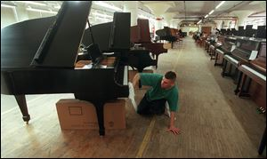 Steinway is being taken over by private equity firm Kohlberg & Co.