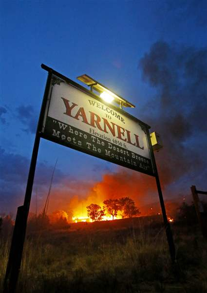 Arizona-Wildfires-YARNELL