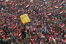 Mideast-Egypt-THOUSANDS-PROTEST