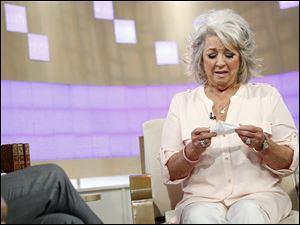 "Celebrity chef Paula Deen appears on NBC News' ""Today"" show, June 26 in New York."
