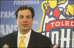 Joe Napoli, president and general manager of the Toledo Walleye.
