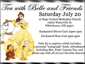 Tea with Belle and Friends
