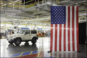 As carmakers roll out Fourth of July sales, a survey shows Jeep has more believability when it comes to marketing on patriotism. Ford, the only other auto brand on the list, came in 16th.