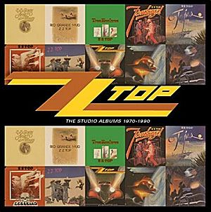 ZZ Top, The Studio Albums 1970-990