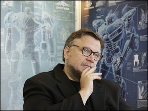 "Mexican director Guillermo del Toro speaks about his new film ""Pacific Rim"""