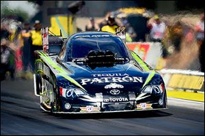 Patron, a company owned by her father, is Alexis DeJoria's primary sponsor.